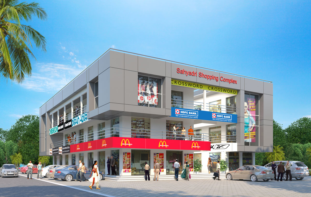 Shopping Complex at Nasrapur